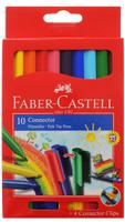 Купить Faber-Castell Набор фломастеров с клипом 10 цветов