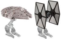 Купить Hot Wheels Star Wars Звездные корабли Tie Fighter vs Millennium Falcon