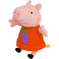 Купить Peppa Pig Мягкая игрушка Пеппа с виноградом 20 см, Мягкие игрушки