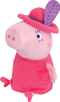 Купить Peppa Pig Мягкая игрушка Мама Свинка в шляпе 30 см