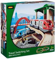 Купить Brio Железная дорога двухуровневая с вокзалом
