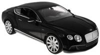 Купить Rastar Радиоуправляемая модель Bentley Continental GT Speed цвет черный масштаб 1:14, Машинки