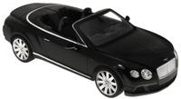 Купить Rastar Радиоуправляемая модель Bentley Continental GT Speed Convertible цвет черный