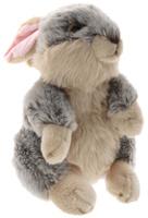 Купить Maxi Toys Мягкая игрушка Кролик цвет серый бежевый 26 см