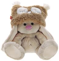 Купить Мягкая игрушка Зайка Ми в шапке-сове 15 см, Мягкие игрушки