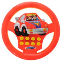 Купить Junfa Toys Развивающая игрушка Руль цвет красный желтый, Junfa Toys Ltd