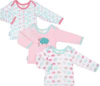 Купить Кофточка для девочки Lucky Child Овечки, цвет: белый, розовый, светло-зеленый, 3 шт. 30-146. Размер 92/98, 3 года, Одежда для новорожденных
