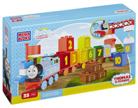 Купить Mega Bloks Томас и его друзья Конструктор Обучающий паровозик, Конструкторы