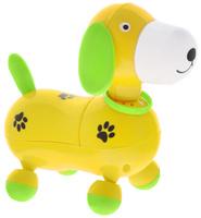 Купить Mommy Love Электронная развивающая игрушка Веселый щенок цвет желтый, Dream Makers