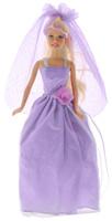 Купить Defa Кукла Lucy в свадебном платье цвет сиреневый, Defa Toys, Куклы и аксессуары