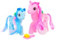 Купить Играем вместе Набор фигурок Пони цвет розовый голубой 2 шт, Shantou City Daxiang Plastic Toy Products Co., Ltd, Фигурки