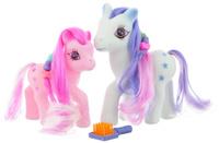 Купить Играем вместе Набор фигурок Пони цвет розовый белый 2 шт, Shantou City Daxiang Plastic Toy Products Co., Ltd, Фигурки