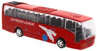 Купить Big Motors Автобус инерционный Cheerful Bus цвет красный, Guangdong Qunxing Toys Joint-Stock Co., LTD