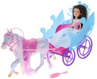 Купить ABtoys Игровой набор Принцесса в экипаже брюнетка