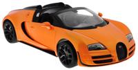 Купить Rastar Радиоуправляемая модель Bugatti Veyron 16.4 Grand Sport Vitesse цвет оранжевый