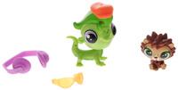 Купить Littlest Pet Shop Набор фигурок Vinnie Terrio & Harrison Hedger, Hasbro