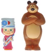 Купить Маша и Медведь Набор фигурок Маша-доктор с Мишкой, Фигурки