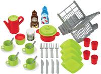 Купить Ecoiffier Игровой набор Сушилка для посуды цвет салатовый красный, Игровые наборы