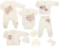 Купить Подарочный комплект для новорожденного Lucky Child Экрю, 9 предметов, цвет: бежевый. 6-1000. Размер 62/68, Одежда для новорожденных