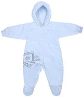 Купить Комбинезон детский Lucky Child, цвет: голубой. 5-1. Размер 80/86, Одежда для новорожденных