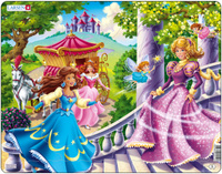 Купить Larsen Пазл Принцессы US10, L.A.Larsen AS