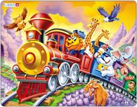 Купить Larsen Пазл Поезд с цирком, L.A.Larsen AS