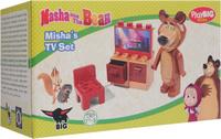 Купить Play Big Конструктор Маша и Медведь Телевизор, BIG SPIELWARENFABRIK GmbH & Co. KG
