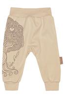 Купить Штанишки на широком поясе Linea Di Sette Дуб'ок, цвет: бежевый. 04-0201. Размер 74, 9-12 месяцев, Одежда для новорожденных