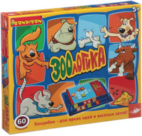 Купить Bondibon Обучающая игра Зоологика, Обучение и развитие