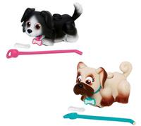 Купить Pet Club Parade Игровой набор Собачки Бордер-колли и Мопс