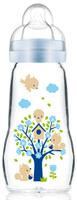 Купить MAM Бутылочка для кормления Feel Good цвет голубой 260 мл, Бутылочки