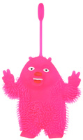 Купить 1TOY Игрушка-антистресс Ё-Ёжик Медвежонок-хиппи цвет розовый, Развлекательные игрушки