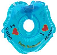 Купить Baby Swimmer Круг на шею цвет голубой 3-12 кг, Круги для купания