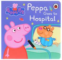 Купить Peppa Goes to Hospital, Книги по мультфильмам и фильмам