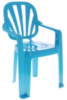 Купить Idea Стульчик детский Арлекино цвет бирюзовый, Столы и стулья
