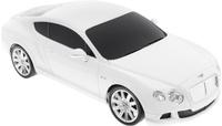 Купить Rastar Радиоуправляемая модель Bentley Continental GT Speed цвет белый масштаб 1:24