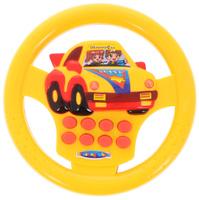 Купить Junfa Toys Развивающая игрушка Руль цвет желтый красный