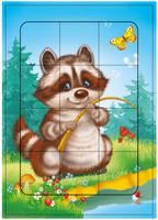 Купить Дрофа-Медиа Пазл для малышей Енотик 2459, Обучение и развитие