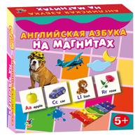 Купить Дрофа-Медиа Обучающая игра Английская азбука на магнитах