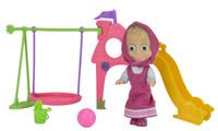Купить Simba Игровой набор Маша с детской игровой площадкой, Куклы и аксессуары