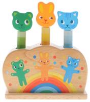 Купить Djeco Развивающая игрушка Зверюшки-попрыгунчики, Развивающие игрушки