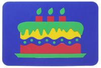 Купить Август Пазл для малышей Торт цвет основы синий, ТД Август