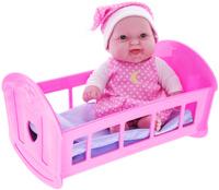 Купить JC Toys Игровой набор Пупс в кроватке, Куклы и аксессуары