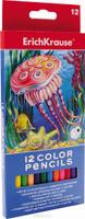 Купить Erich Krause Набор цветных карандашей 12 шт, Карандаши