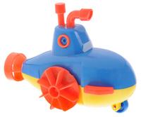 Купить 1TOY Игрушка для ванной Буль-Буль Подводная лодка цвет синий