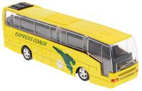 Купить Big Motors Автобус инерционный Cheerful Bus цвет желтый, Guangdong Qunxing Toys Joint-Stock Co., LTD, Машинки
