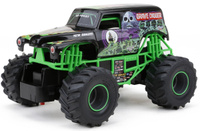 Купить Bright Радиоуправляемая модель Grave Digger цвет зеленый черный масштаб 1:24, UKI LLC (ЮКейАй ЛЛСи), Фабрика-изготовитель: Brilliant Electronics (Shenzhen) Co., Ltd (Брилиант Электроник (Шеньджень) Ко., Лтд.)
