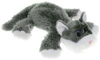 Купить Gulliver Мягкая озвученная игрушка Котик Шалунишка цвет серый 45 см, Мягкие игрушки