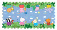 Купить Peppa Pig Коврик-пазл Пеппа и друзья, Росмэн, Развивающие коврики