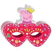 Купить Peppa Pig Маска бумажная Пеппа-принцесса, Маски карнавальные